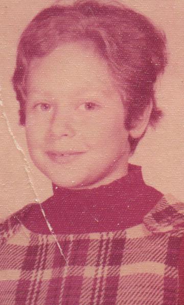 Elise Moser as a girl