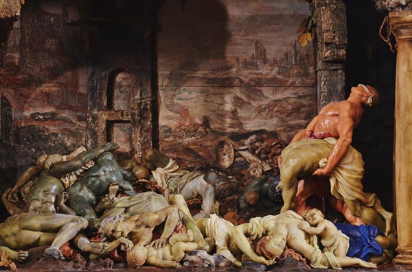 Gaetano Giulio Zumbo's miniature wax tableau 'The Plague'