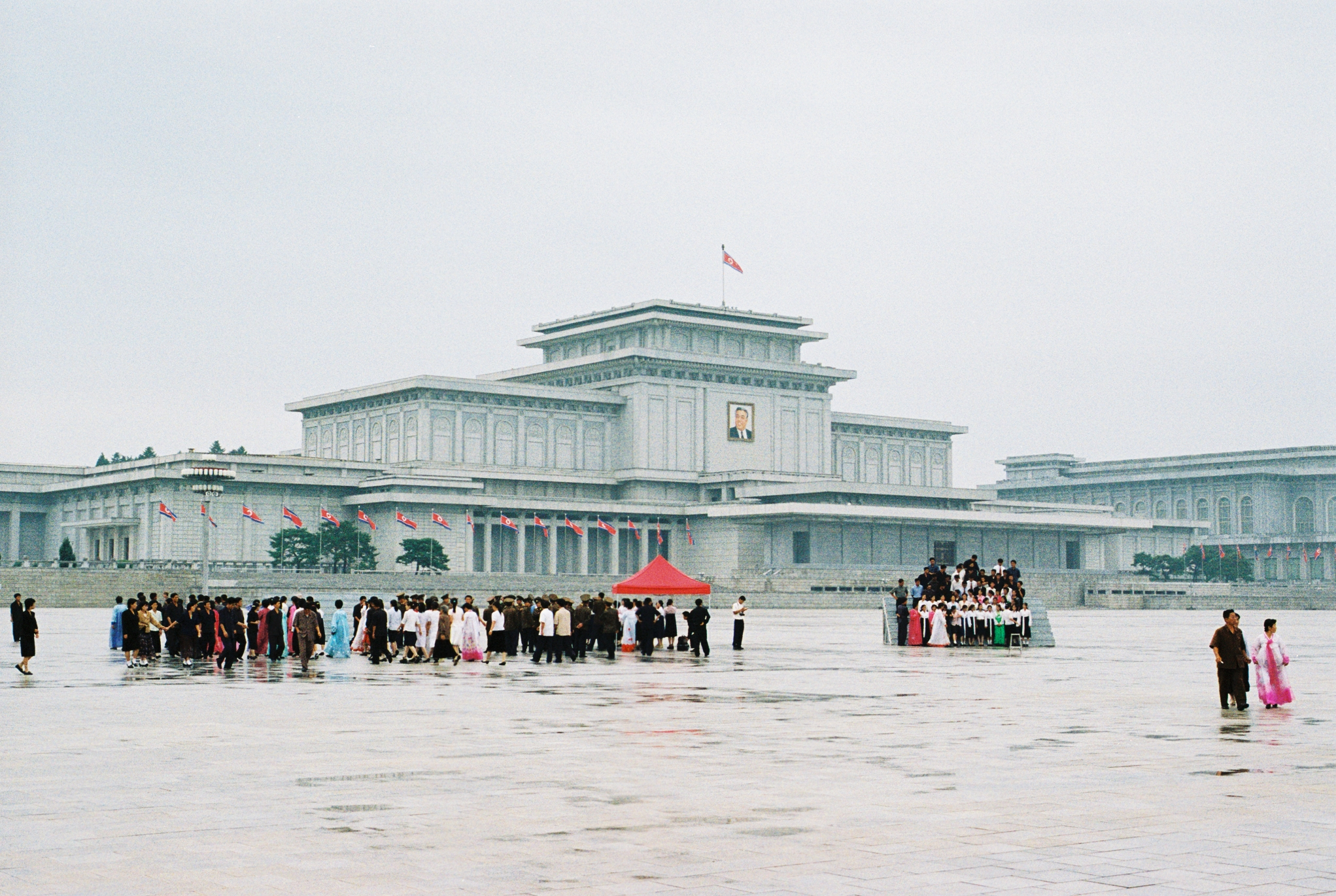 The Kumsusan Sun Memorial Palace