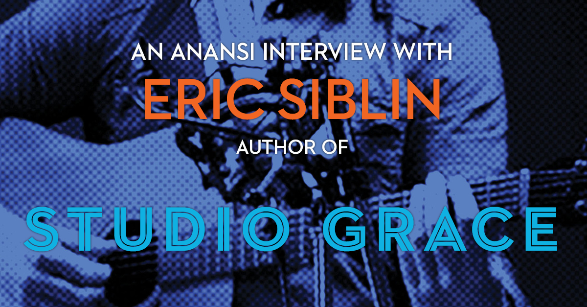 Eric Siblin Author of Studio Grace