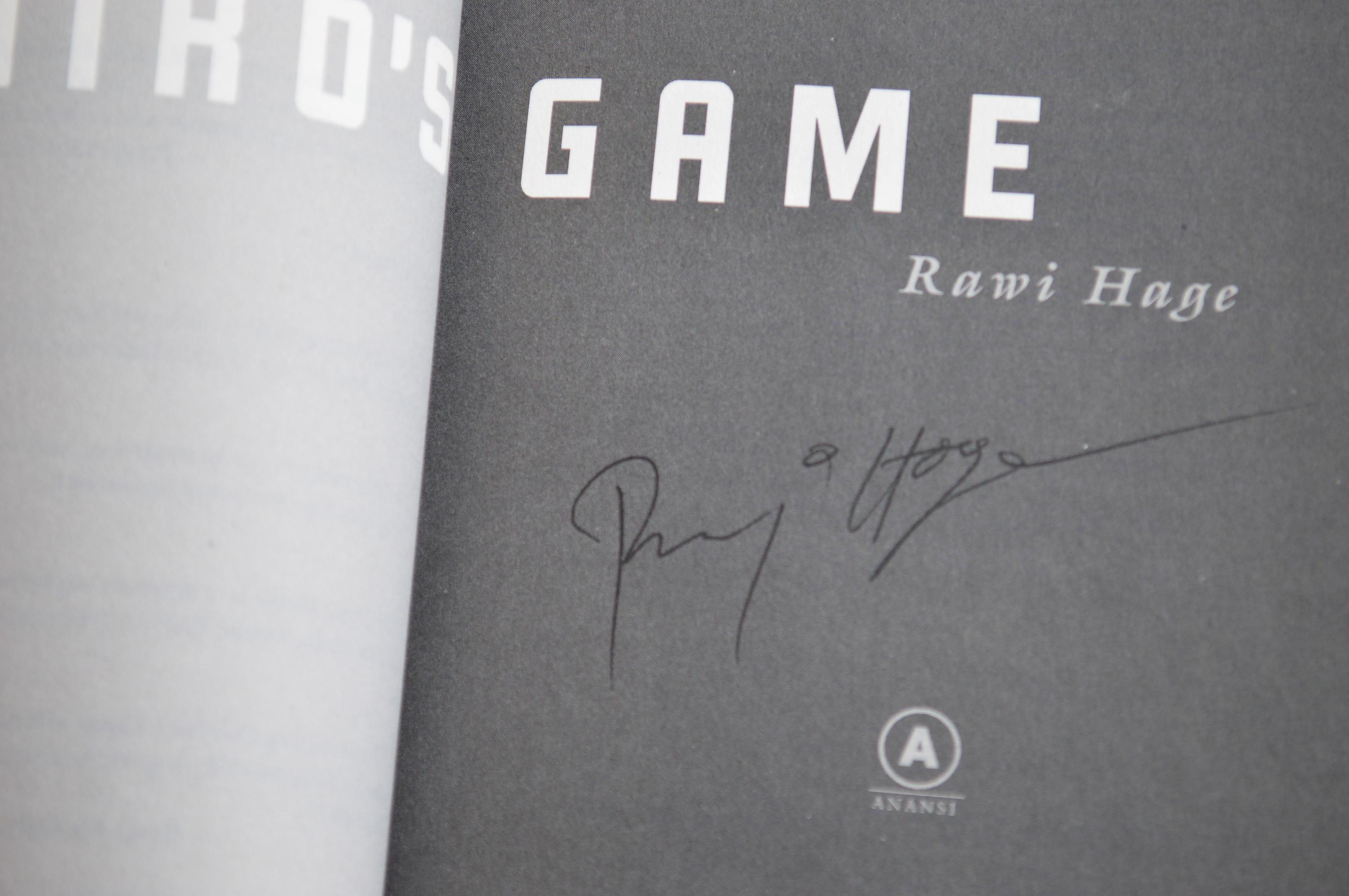 De Niro's Game, Autographed