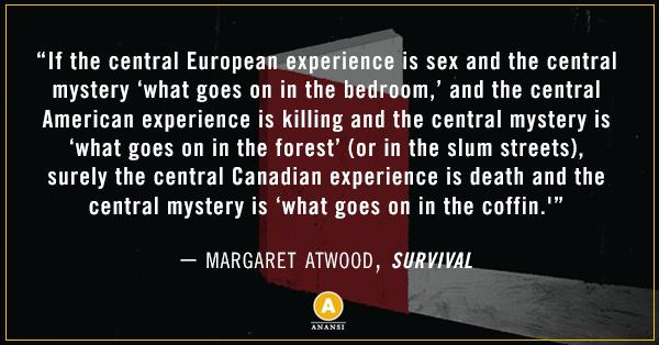 Margaret Atwood Survival Quote