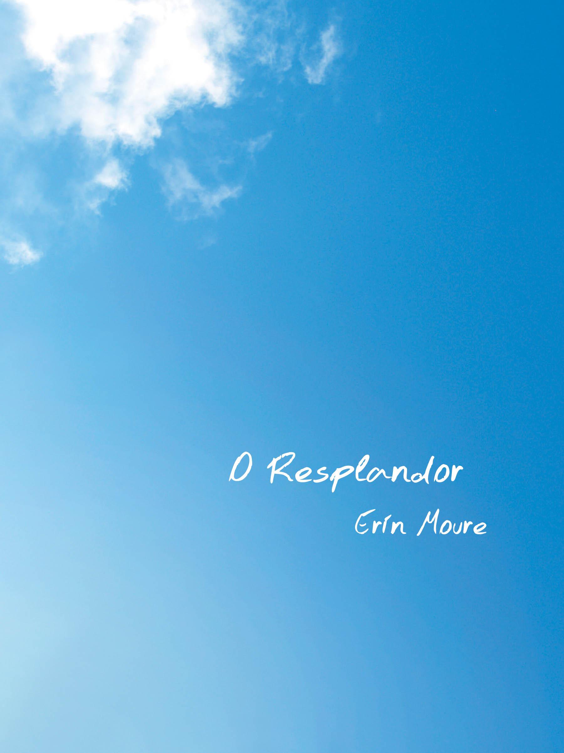 O Resplandor by Erin Moure Cover