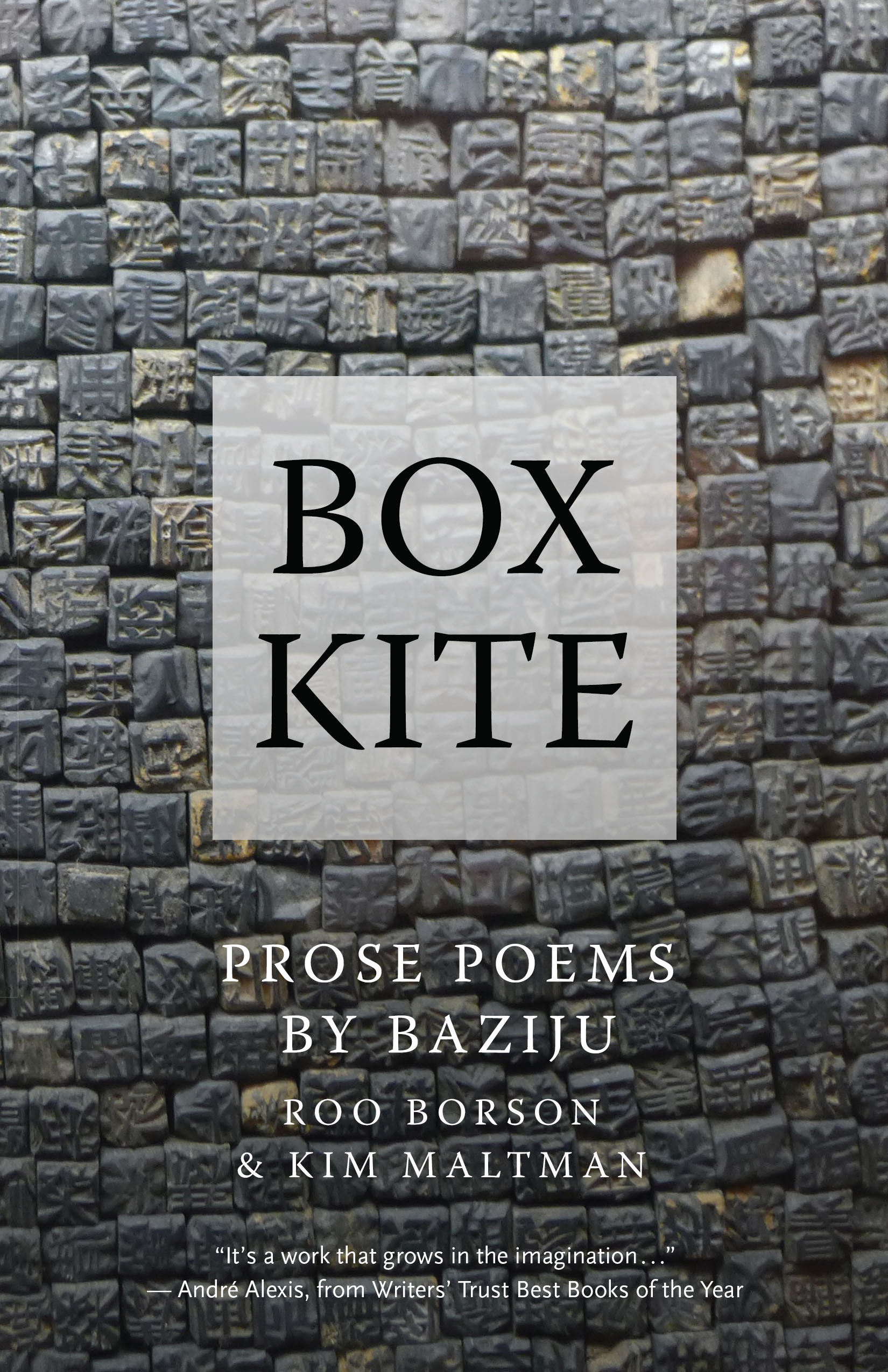 Box Kite by Kim Maltman and Roo Borson