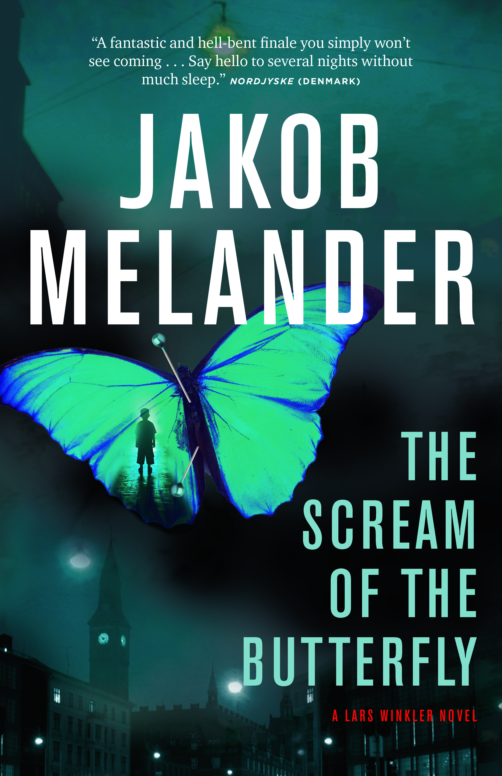 The Scream of the Butterfly by Jakob Melander