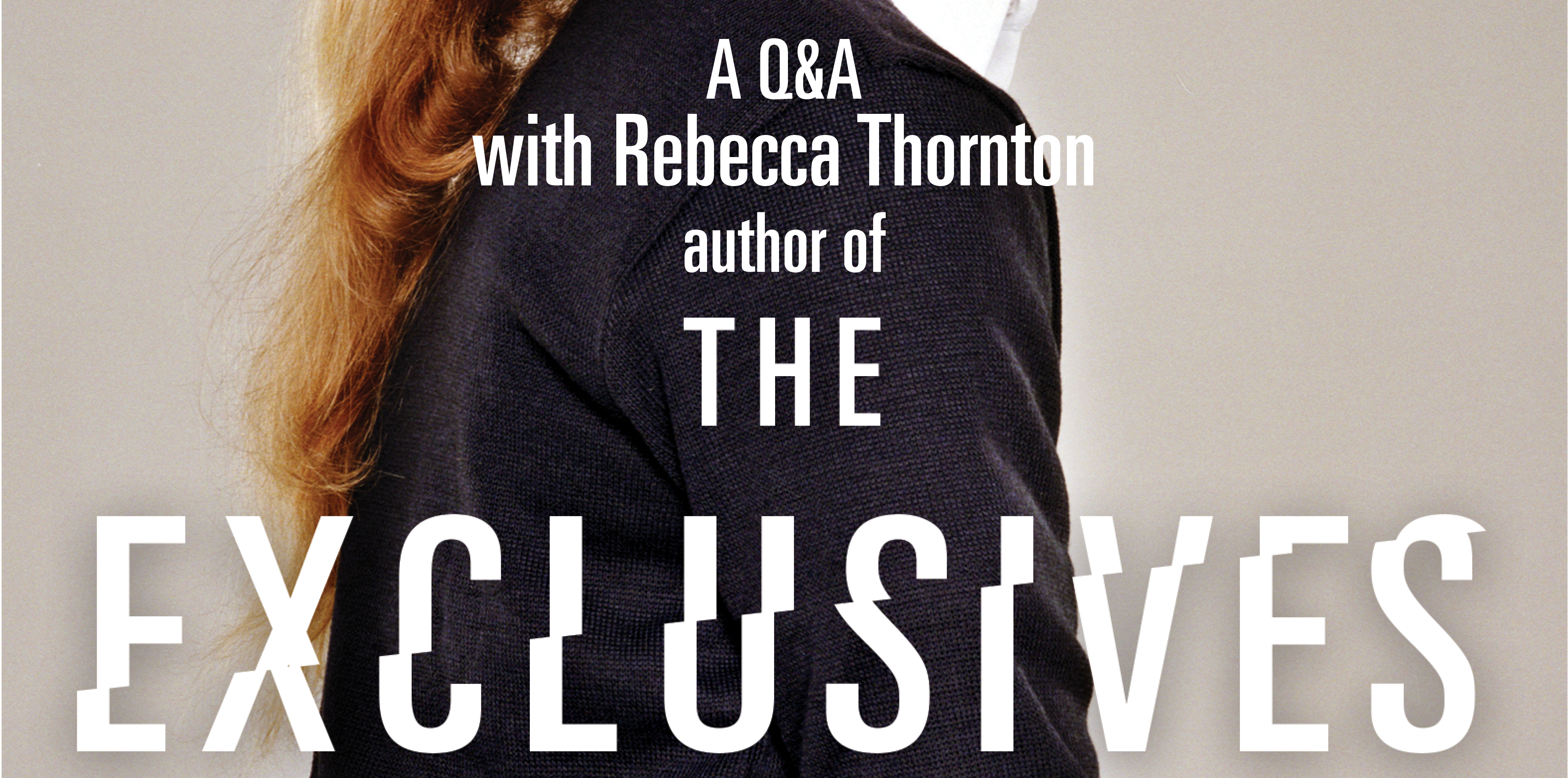 Q&A with Rebecca Thornton