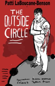 Kelly Mellings, of Pulp Studios Inc., Mockup Cover for The Outside Circle by Patti LaBoucane-Benson, published by House of Anansi