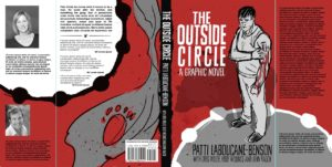 Kelly Mellings, of Pulp Studios Inc., Mockup Jacket for The Outside Circle by Patti LaBoucane-Benson, published by House of Anansi
