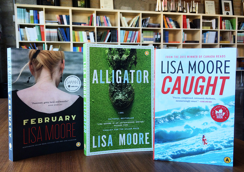 CanLit Books by Lisa Moore