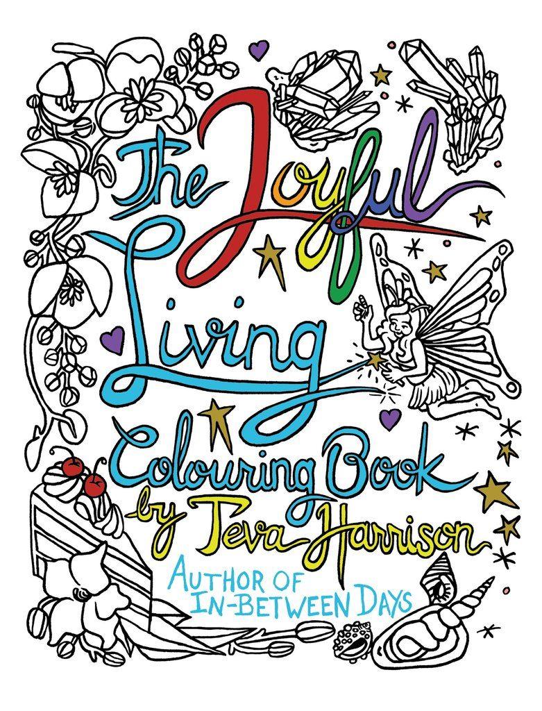 THE JOYFUL LIVING COLOURING BOOK