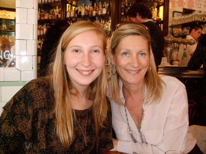 Karen von Hahn and her daughter